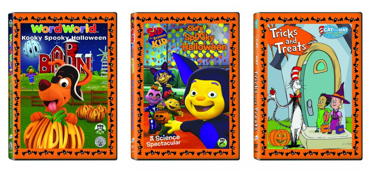 We received WordWorld u2013 A Kooky Spooky Halloween Sid the Science Kid u2013 Sidu0027s Spooky Halloween and The Cat in the Hat Knows a Lot About That u2013 Tricks and ...  sc 1 st  Adventures in Abbyland & A SPOOK-tacular Review Featuring 3 PBS hit series!