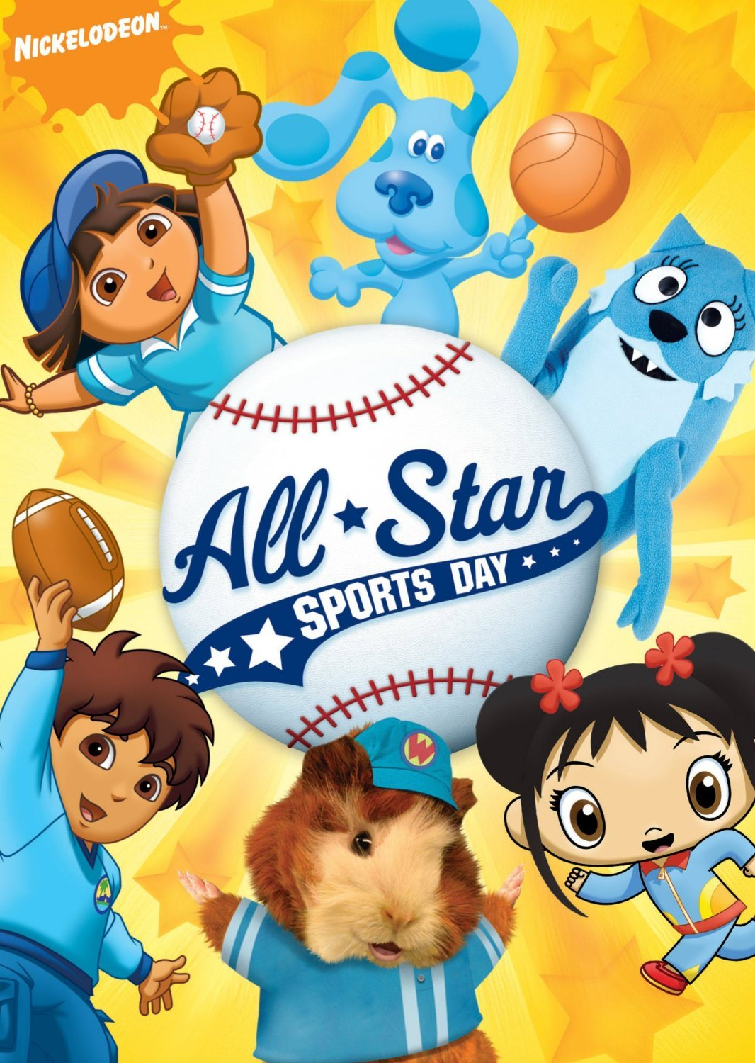 Win It Nickelodeon Jr Favorites All Star Sports Day