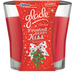 Glade Candle (Frosted Berry Kiss)