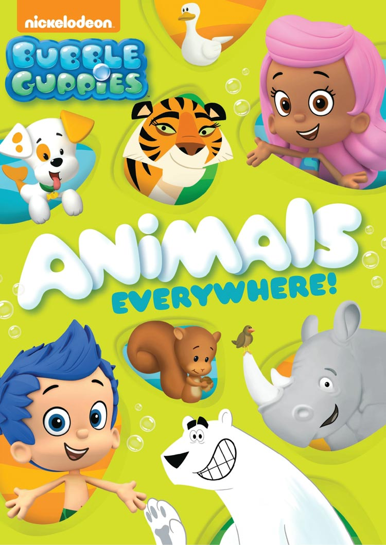 Bubble guppies animals everywhere review plus giveaway - Bubulles guppies ...